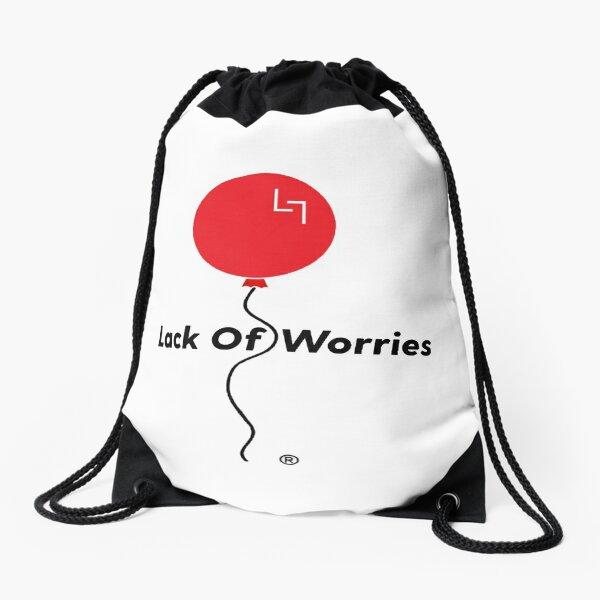Lack Of Worries Drawstring Bag