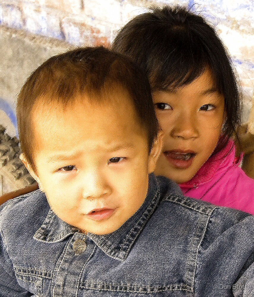 China Children by Don Stott