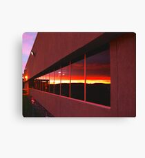 Pythagorean Sunset ! Canvas Print