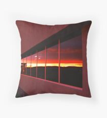 Pythagorean Sunset ! Throw Pillow