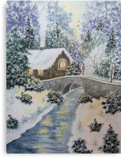 Winter Glory by Ilunia Felczer