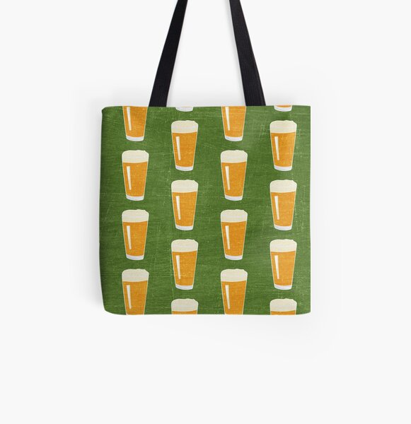 The Pint Glass All Over Print Tote Bag