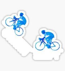 Ohhhhh Shift Cycling Sticker