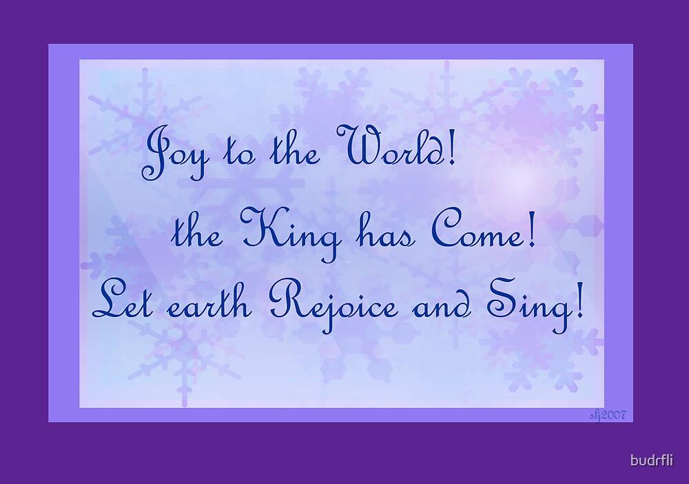 joy to the world! by budrfli