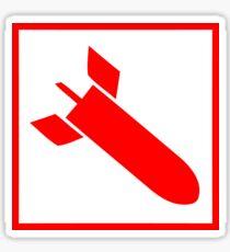 Quake 3 Arena - Rocket Launcher Sticker