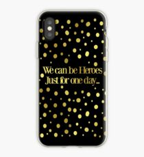 We Could Be Heros ...  iPhone Case
