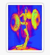 Dancing in color Sticker