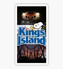 Kings Island Sticker Sticker
