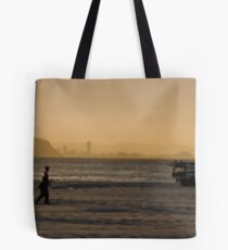 Burleigh Heads Panorama Tote Bag