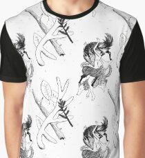 Tatouage d'une femme loup - motif Graphic T-Shirt