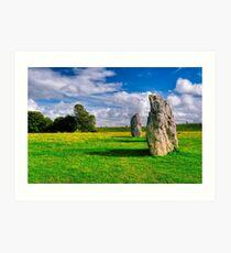 Avebury Days - Standing Stones of Britain Art Print