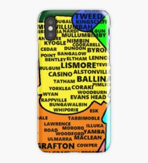 Northern Rivers NSW Map iPhone Case/Skin