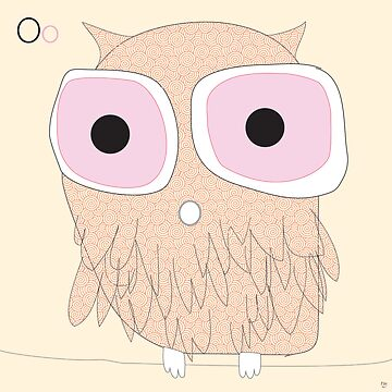 owl mr big eyes by littleray