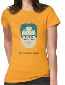 The office - Dwight Schrute Womens Fitted T-Shirt