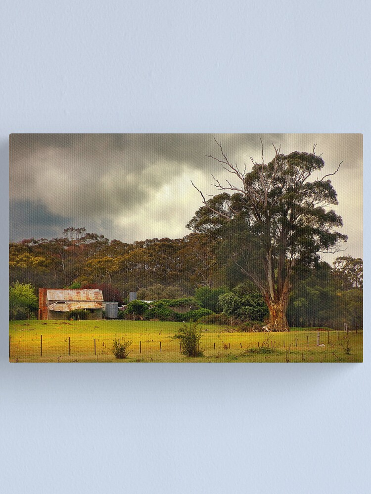 Alternate view of Country Farm Canvas Print