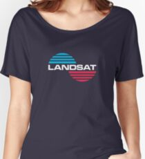Landsat : Inspired by Kong : Skull Island Women's Relaxed Fit T-Shirt