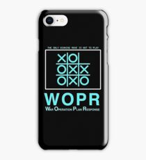 WOPR : Inspired by War Games iPhone Case/Skin