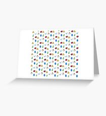 Cuccos, Rupees and Hearts, Oh My! Greeting Card