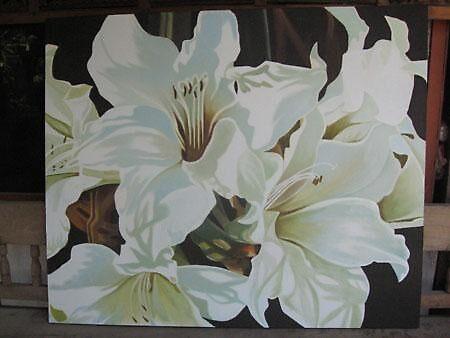amarylis lilies  by sharonldawson