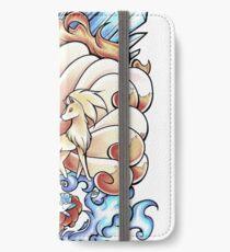 Eis und Feuer iPhone Flip-Case/Hülle/Klebefolie