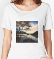 Escape Campervan Painting Women's Relaxed Fit T-Shirt