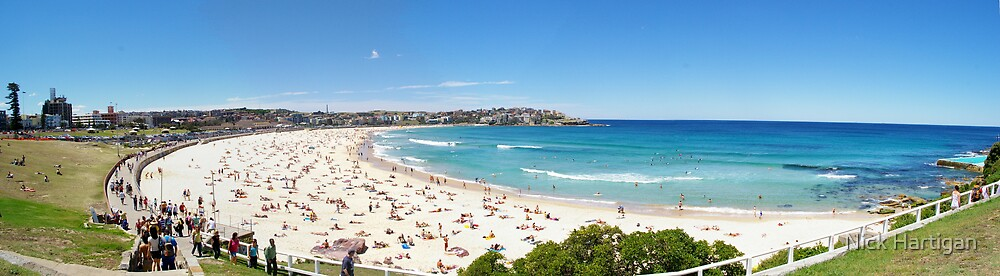 Bondi Beach by Nick Hartigan