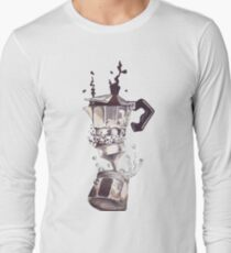 If all else fails, coffee! Long Sleeve T-Shirt