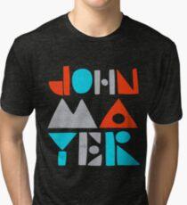 Camiseta de tejido mixto KARENA MAYER JOHN ABJAD