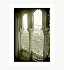 window on the world Art Print