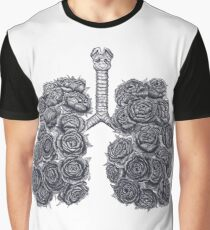 Lungs with peonies Graphic T-Shirt