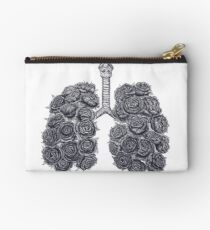 Bolso de mano Lungs with peonies