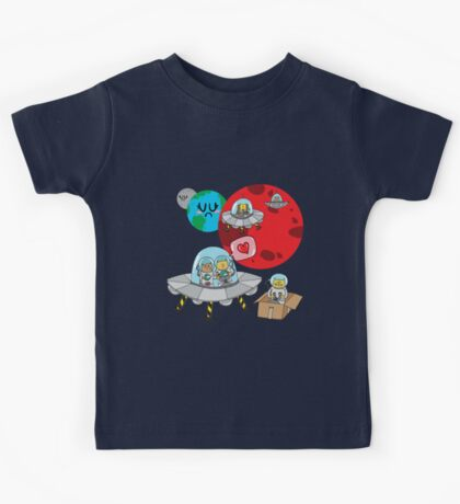 Space Cats Kids Clothes