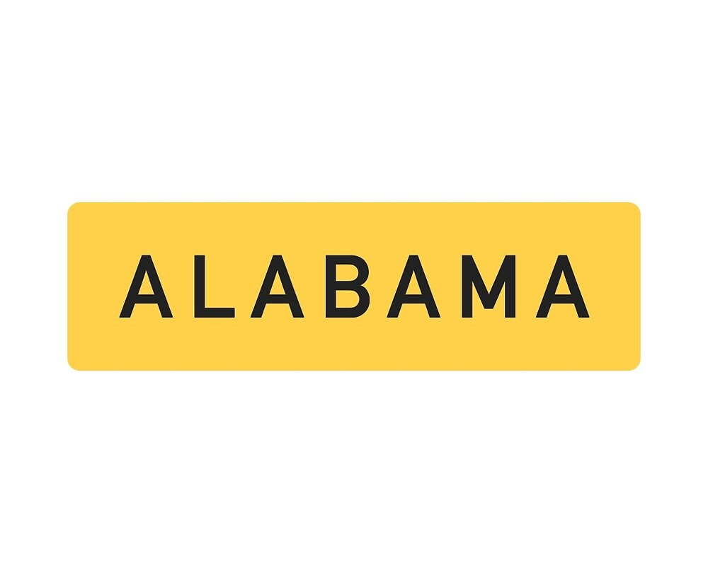 Alabama Y by Seven Red