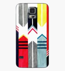 Nautical stripes Case/Skin for Samsung Galaxy