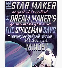 Spaceman- The Killers Poster