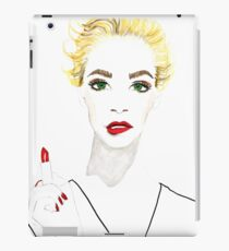 Lipstick commercial iPad Case/Skin