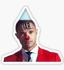 Trevor Noah Is Very Uncool Sticker