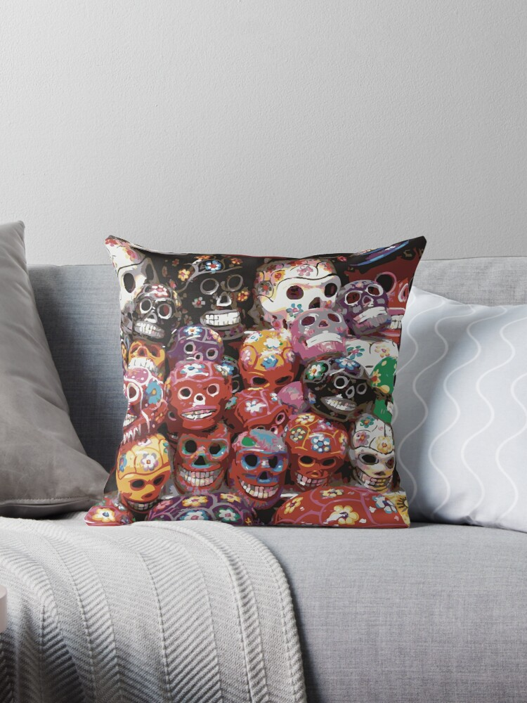 MEXICAN SKULL by Indayahlove