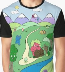 Monster Valley Graphic T-Shirt