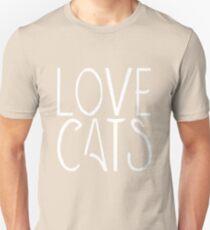 Love Cats | Pets Unisex T-Shirt