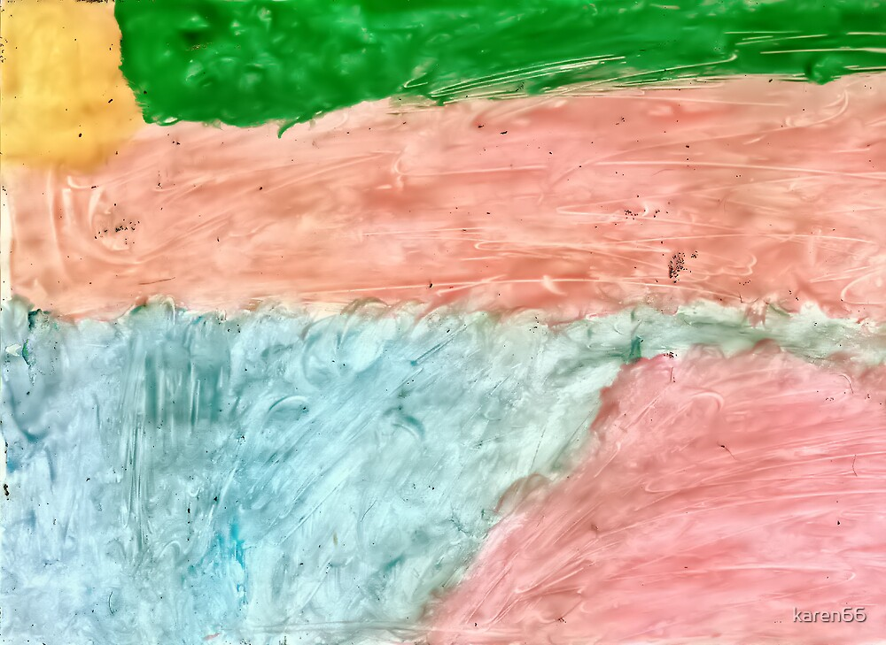 Green Sky At Sunrise By Sydney age 8 by karen66
