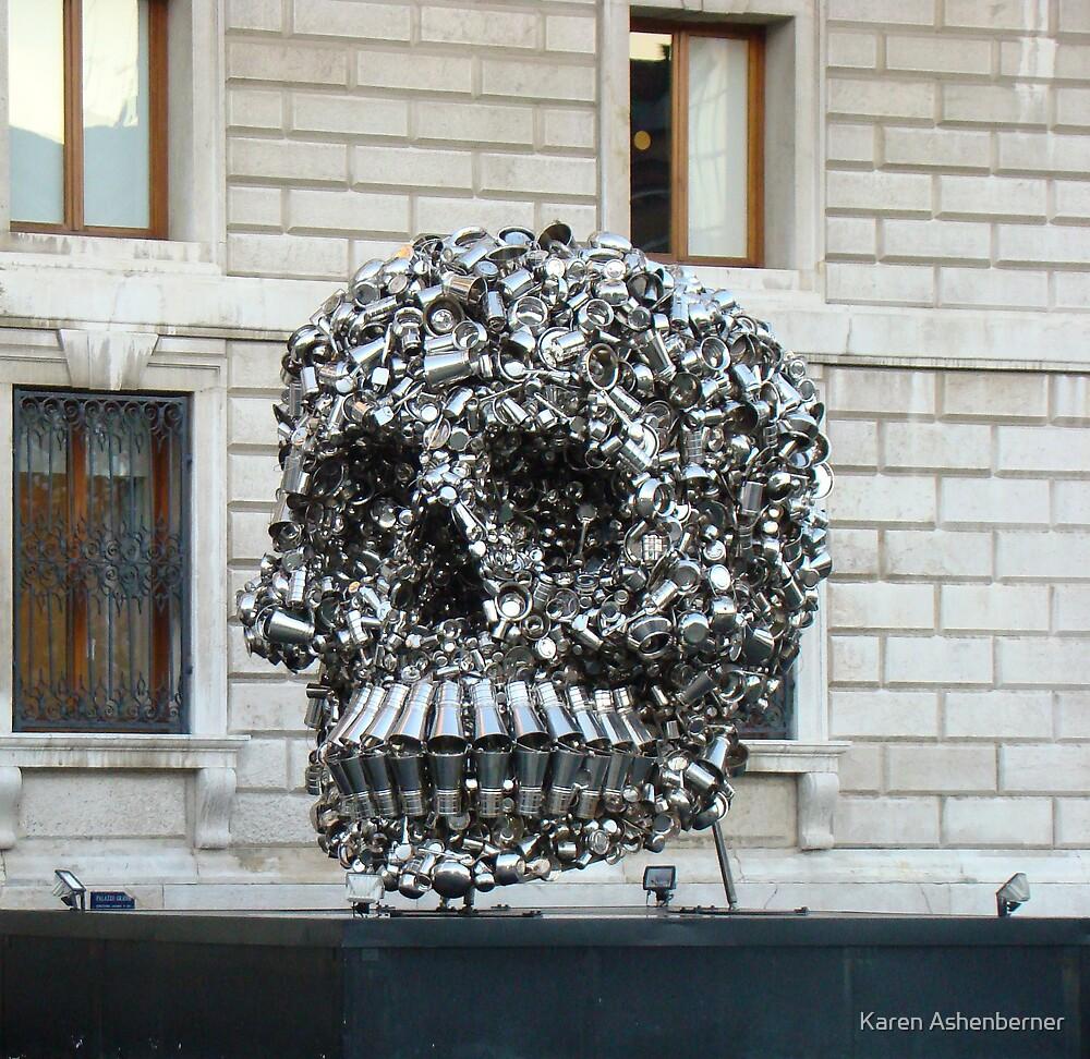 Tin Art - Venice by Karen Ashenberner