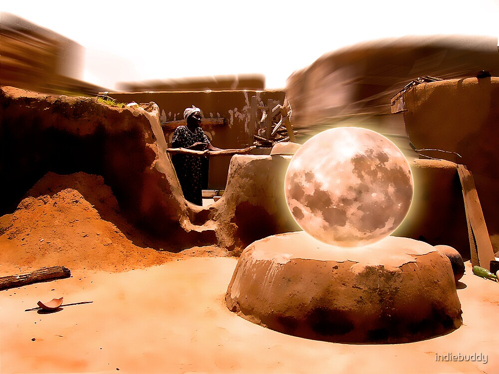 Courtyard of the Sahara by indiebuddy