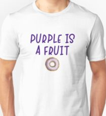 Homer Simpson - Purple is a fruit T-Shirt