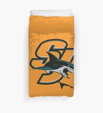 San Jose Sharks Duvet Cover