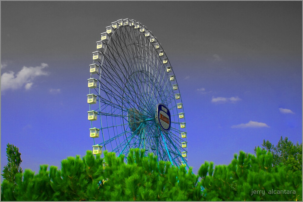 ferris wheel by jerry  alcantara