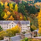 Autumn at the Mill by Chris Clark