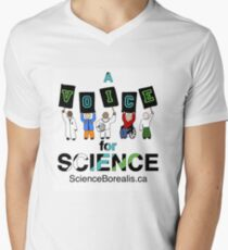 A Voice for Science - Science March Tee! Men's V-Neck T-Shirt