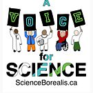 A Voice for Science - Science March Tee! by ScienceBorealis