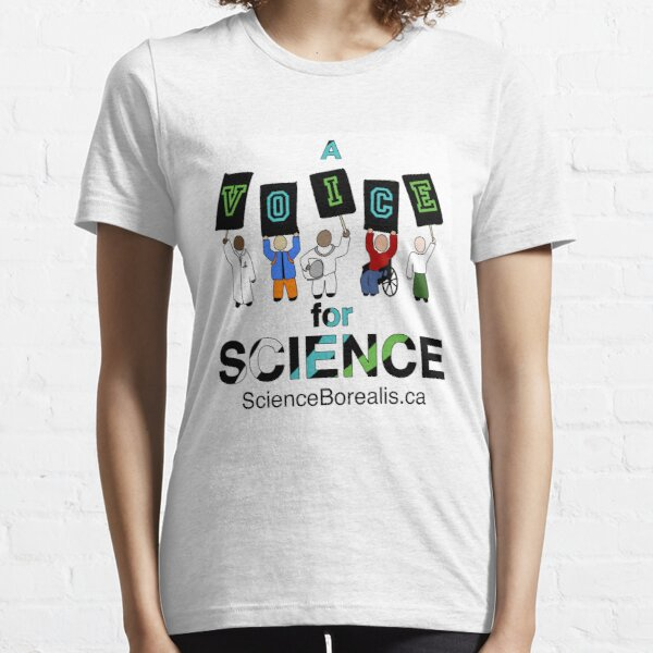 A Voice for Science - Science March Tee! Essential T-Shirt